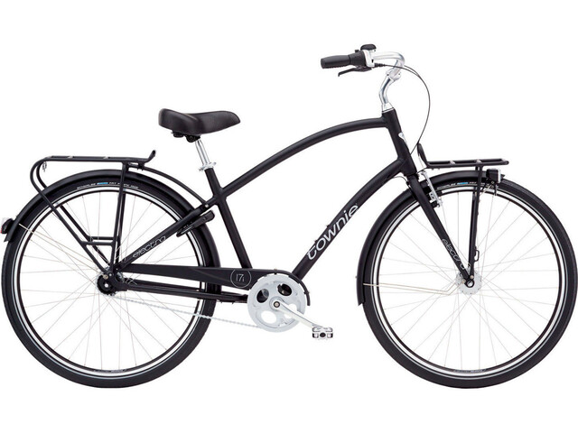 "2. Wahl: Electra Townie Commute 7i EQ Men 28"" satin black"
